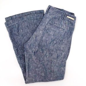 Pilcro Anthropologie Linen Pants